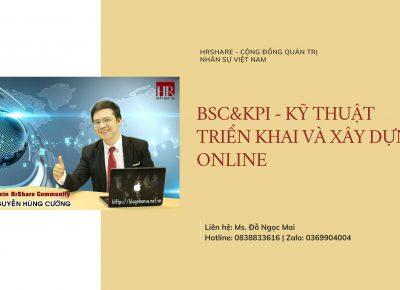 Hình ảnh lớp BSCvsKPI – Kỹ thuật xây dựng và triển khai Hệ thống Quản trị hiệu suất online 08